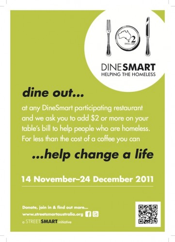 Support Streetsmart with Dinesmart